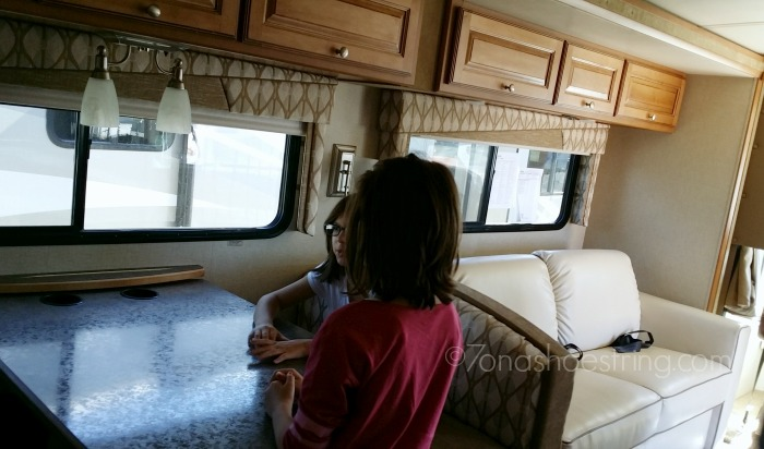 RV home on wheels