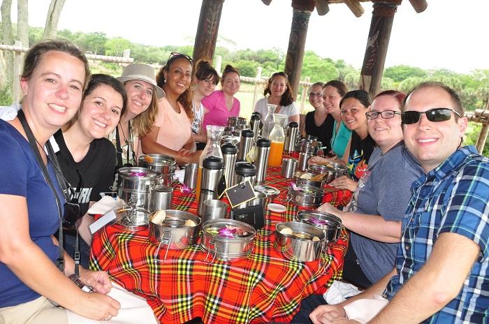 Wild Africa Trek afternoon snack