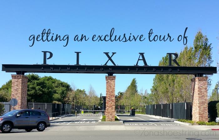 exclusive tour of Pixar Studios