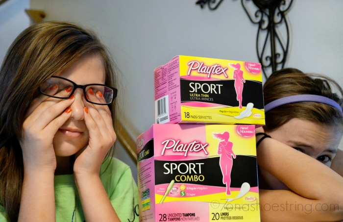 how to talk to your daughter about her period #PlaytexSportSquad