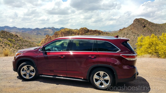 2015 Toyota Highlander for every journey