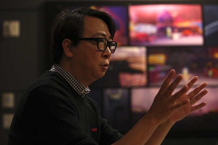 Inside Out Director of Photography - Camera Patrick Lin