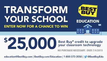 $25K Best Buy Education sweeps