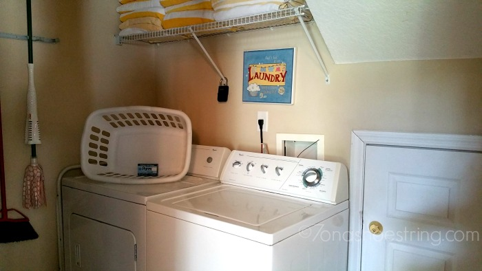 All Star vacation homes laundry room