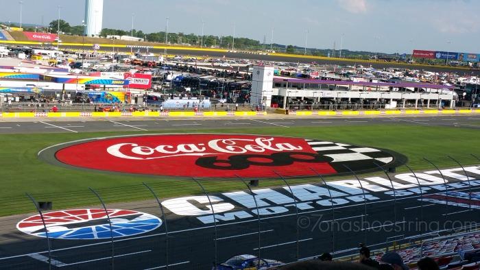 Coca-Cola 600 infield Charlotte Motor Speedway