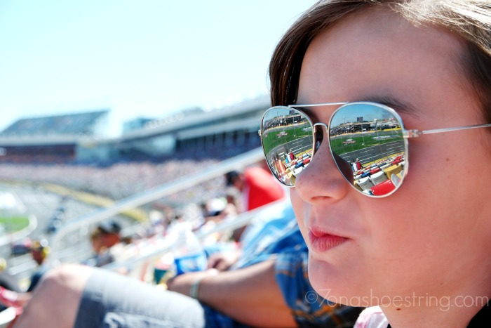 Day at a NASCAR race