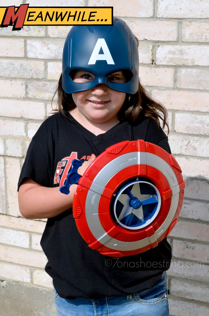 Hasbro Captain America mask and shield