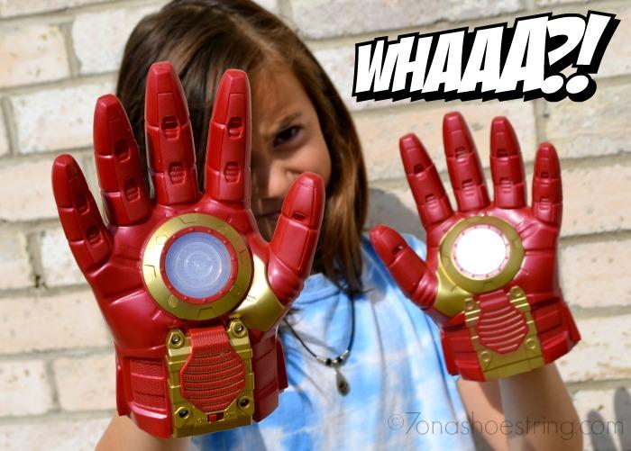 Hasbro Iron Man gloves