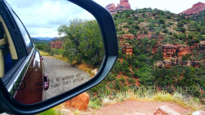 Highlander on Oak Creek Canyon Scenic Drive