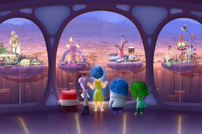 INSIDE OUT – Anger, Fear, Joy, Sadness and Disgust