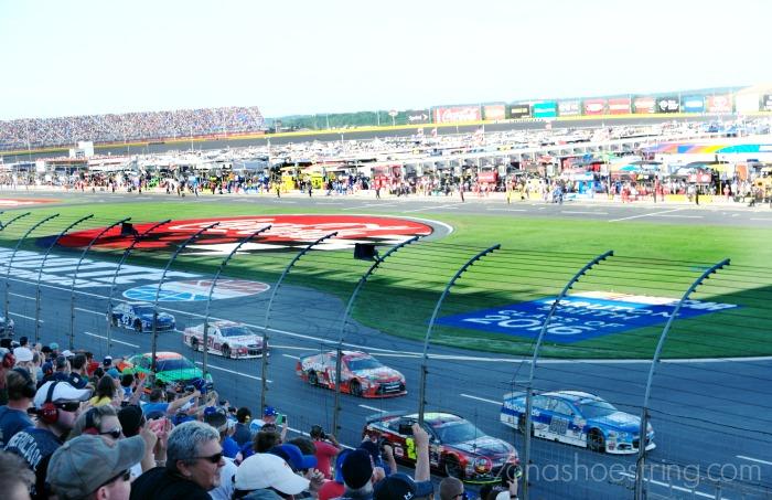 NASCAR Coke 600 line-up