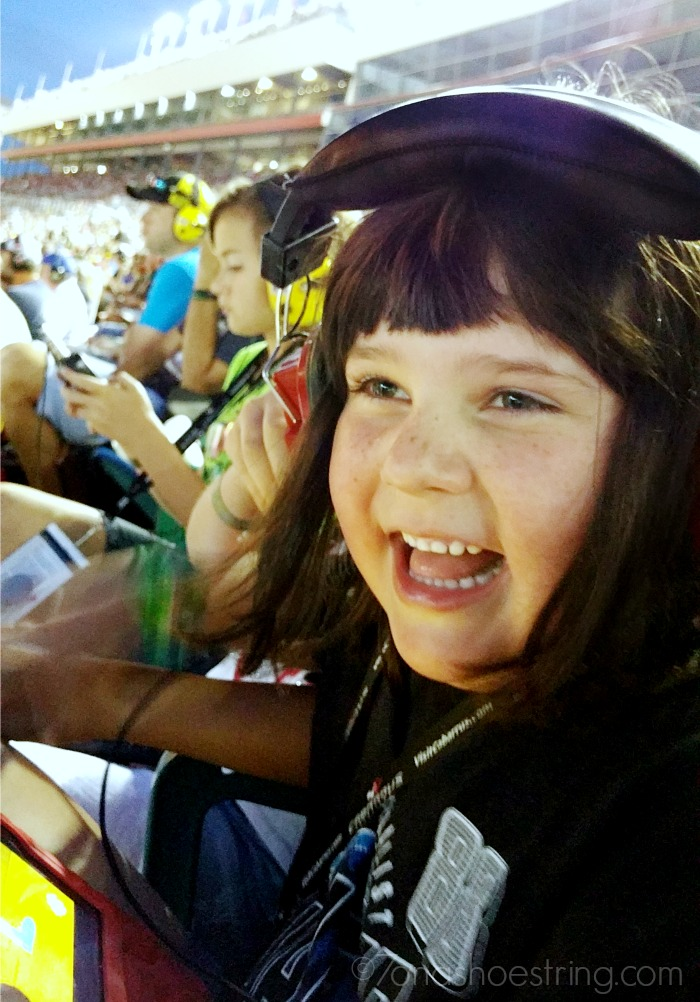 NASCAR proves to be fun for kids