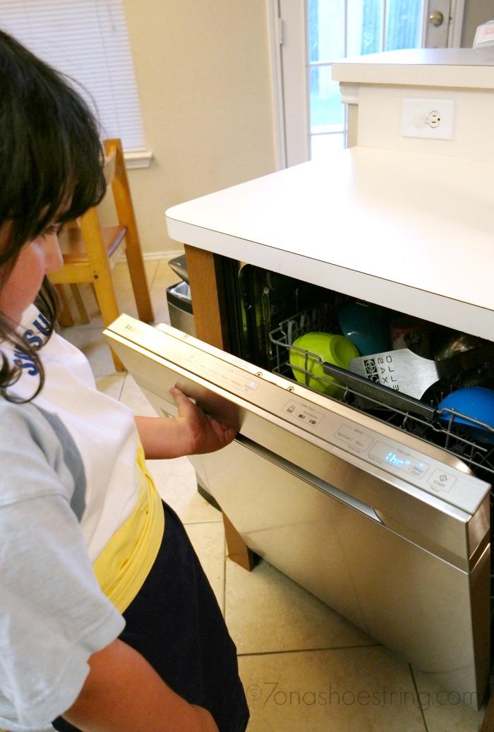 involve kids in chores