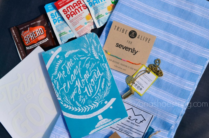 CAUSEBOX by Sevenly contents