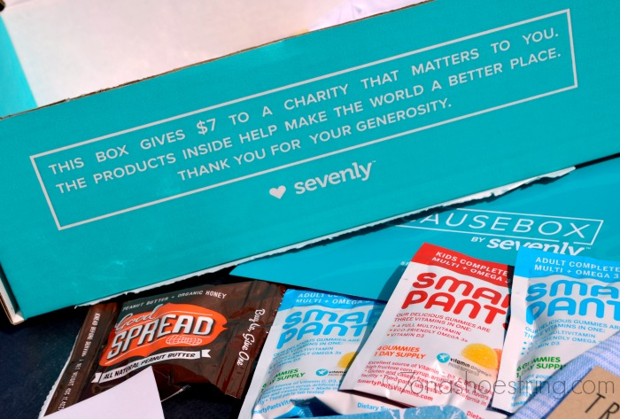 CAUSEBOX by Sevenly box gives back to charity