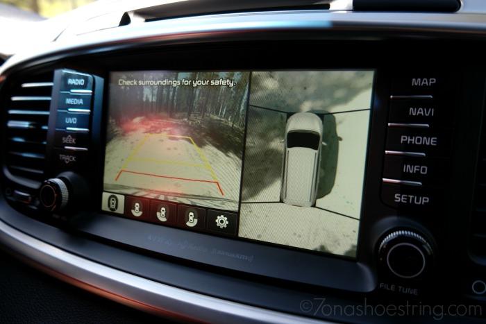 Sorento Surround View Monitor