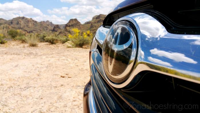 Toyota Highlander Arizona backdrop