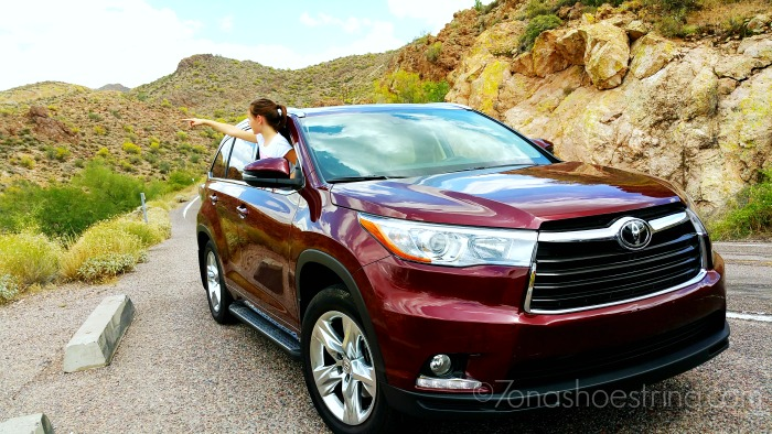 Toyota Highlander for family travel