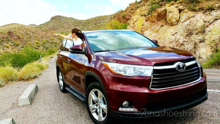 Toyota Highlander for family travel