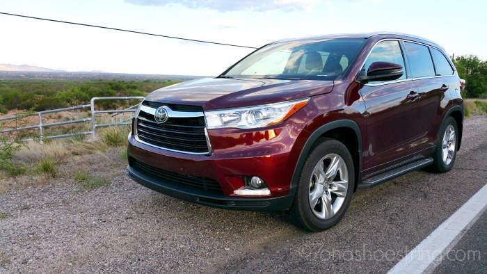 Toyota Highlander perfect for family day road trips