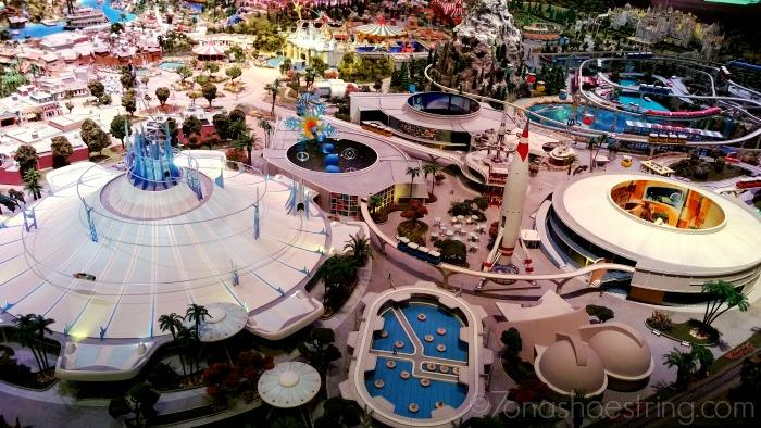 Walt Disney Tomorrowland plans