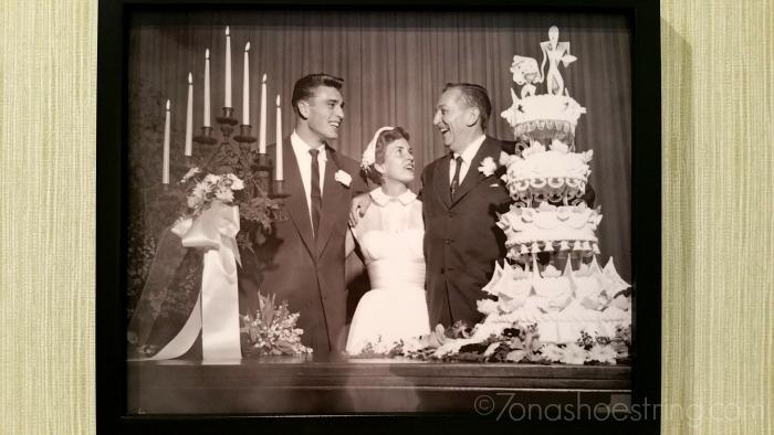 Walt Disney daughter wedding picture