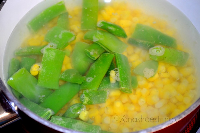 corn and green beans #SweetSwaps
