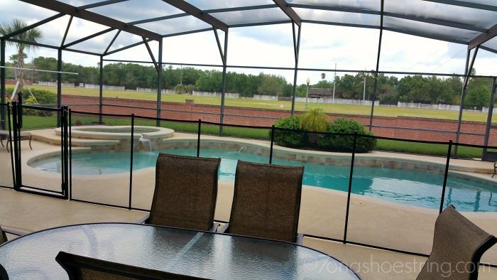 covered lanai Orlando vacation home
