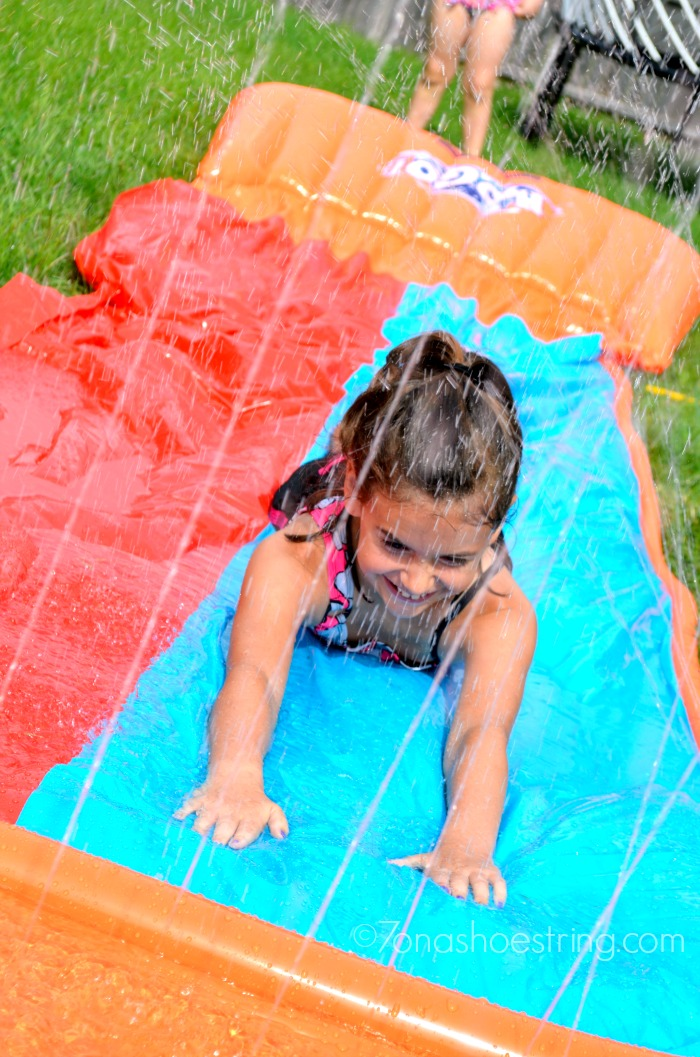 double water slide for kids