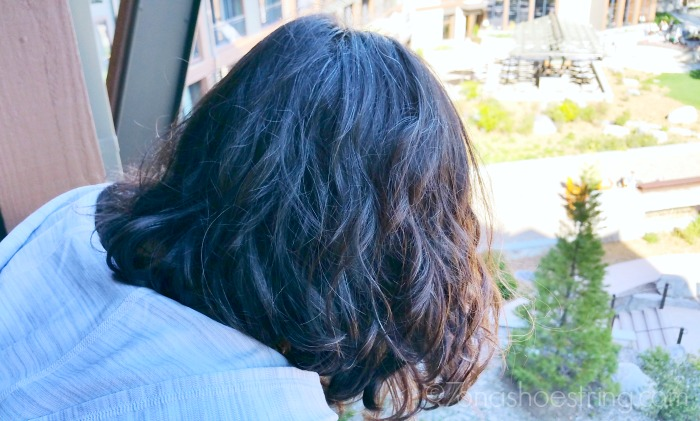 learning to love your curls with Dove