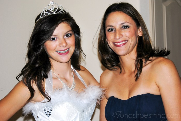 sis and daughter Sweet 16