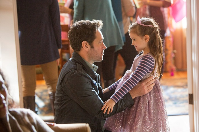 Ant-Man Paul Rudd and Abby Ryder Fortson