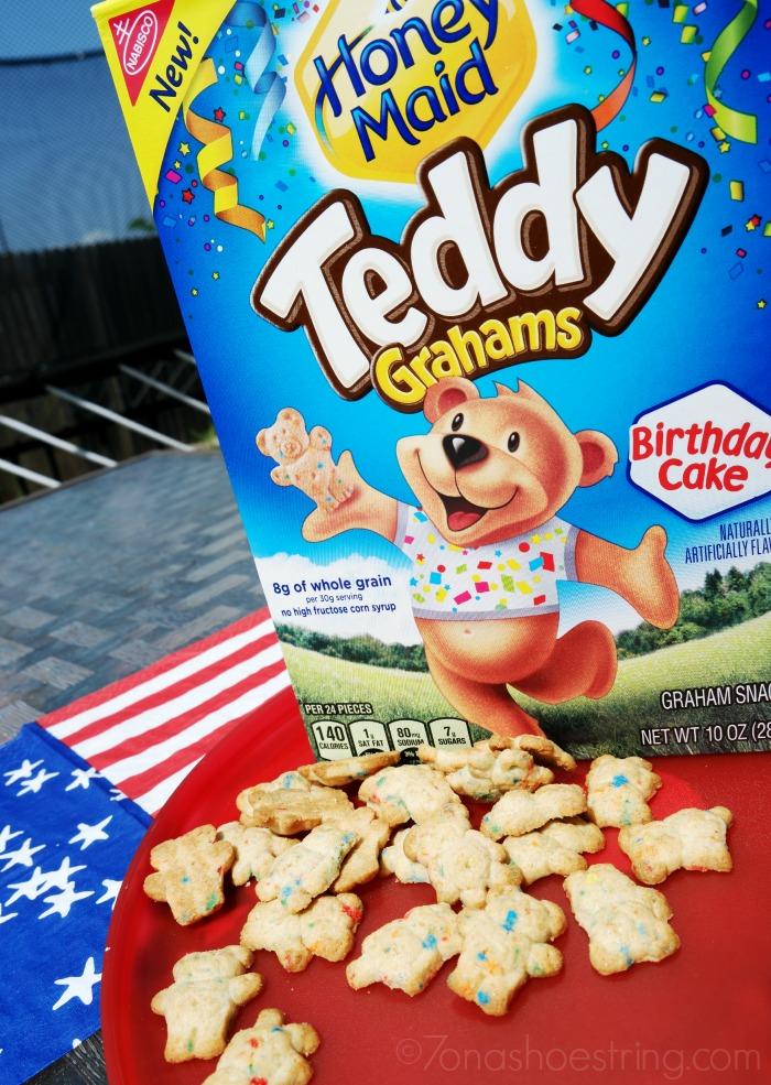 Honey Maid Teddy Grahams Birthday Cake