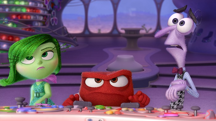 INSIDE OUT Disgust, Anger and Fear