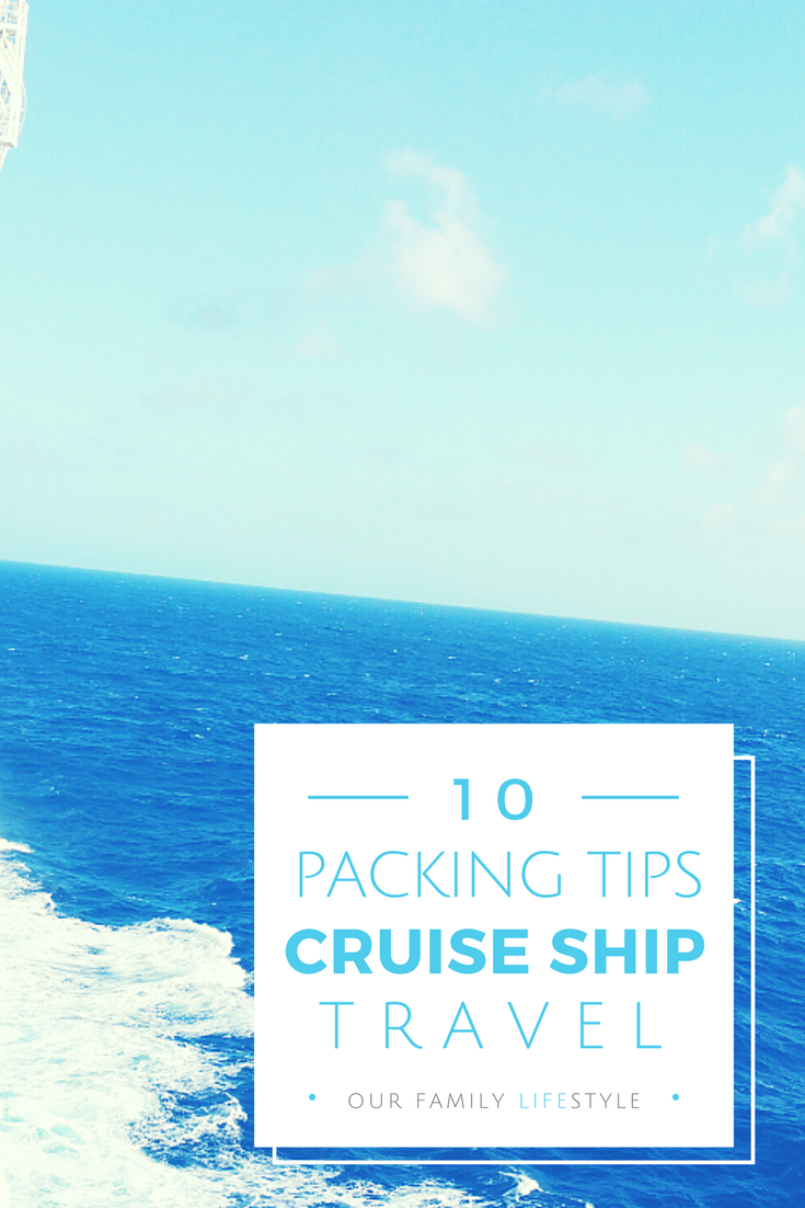 Packing Tips for Cruise Ship Travel