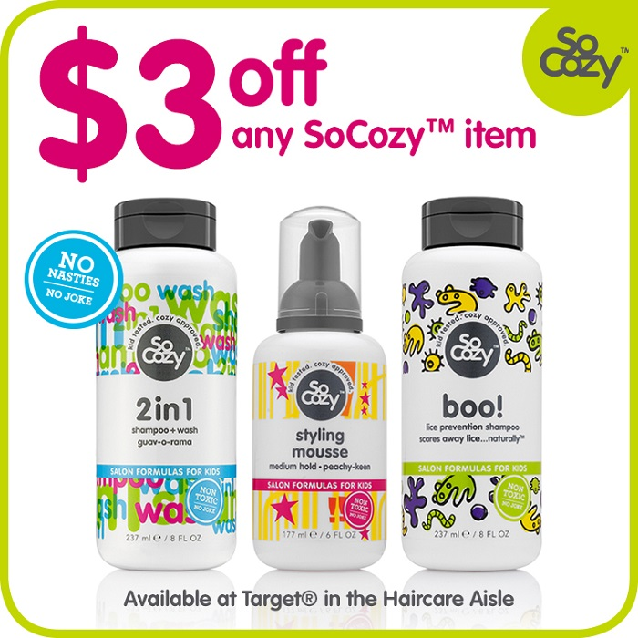 SoCozy Coupon - Target