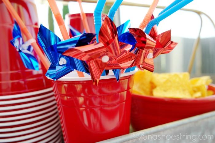 Target 4th of July tableware