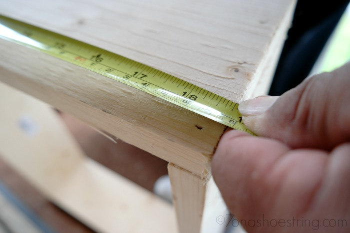 check measurement of boards