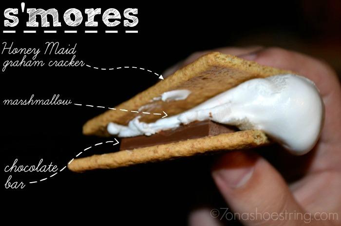 how-to-make-smores with Honey Maid