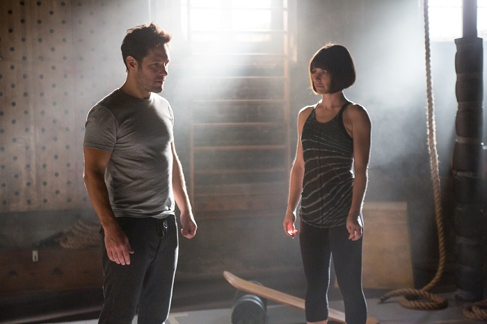 Marvel's Ant-Man Paul Rudd and Evangeline Lilly