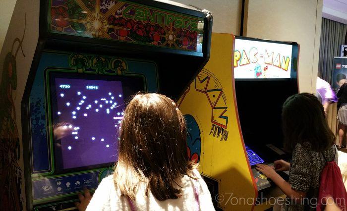 Pixels Movie classic arcade games KidzVuzBTS
