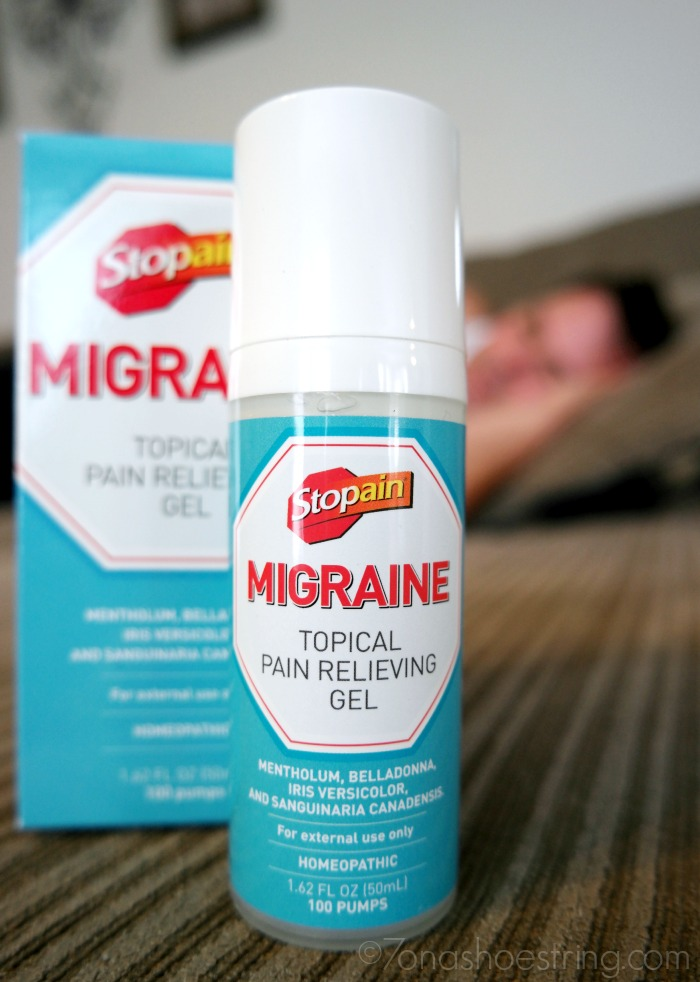 Stopain Migraine topical relieving gel