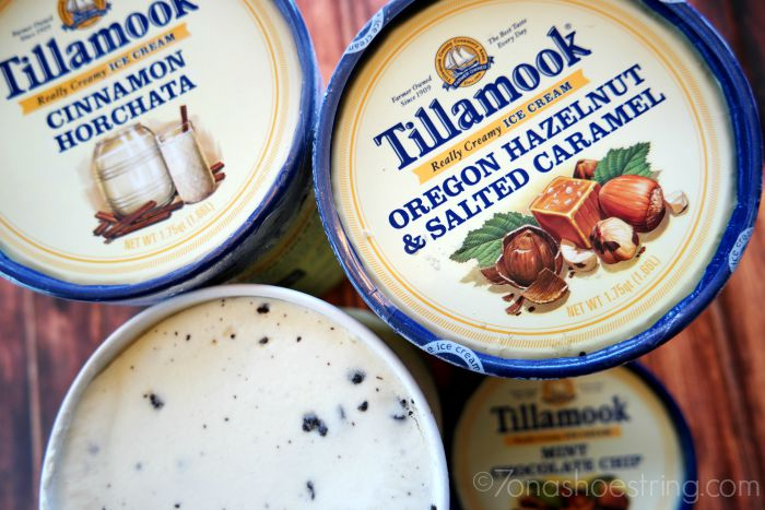 Tillamook ice cream flavors
