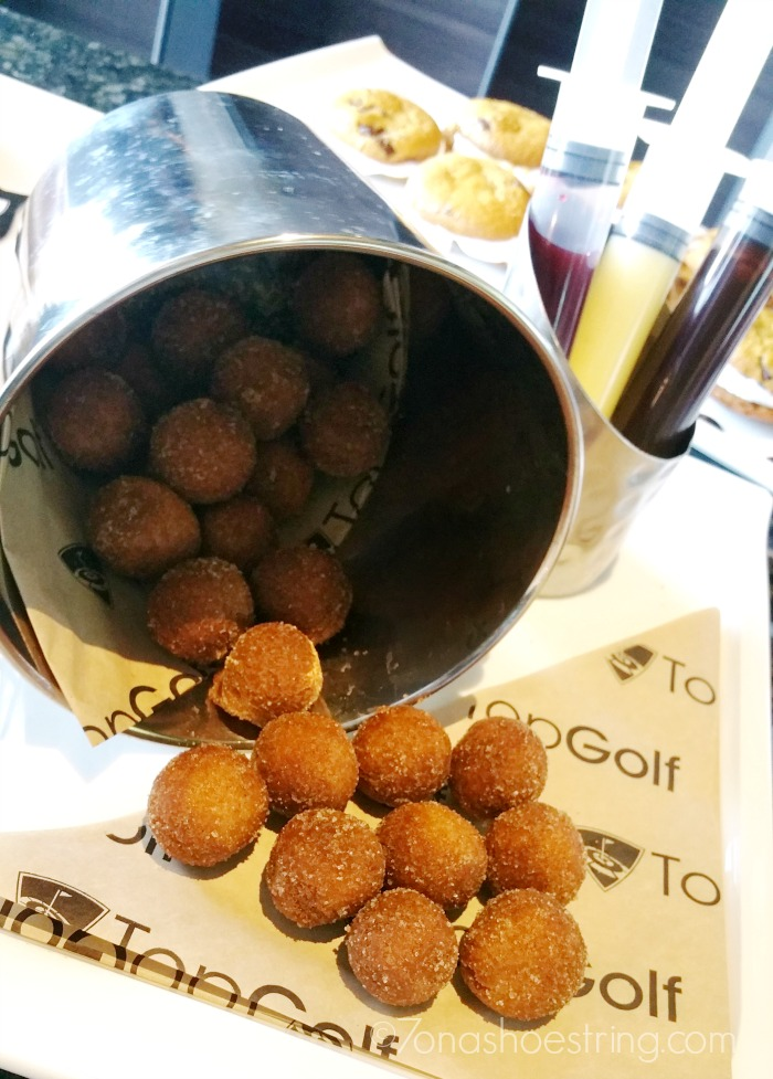 Topgolf Injected Donut Holes