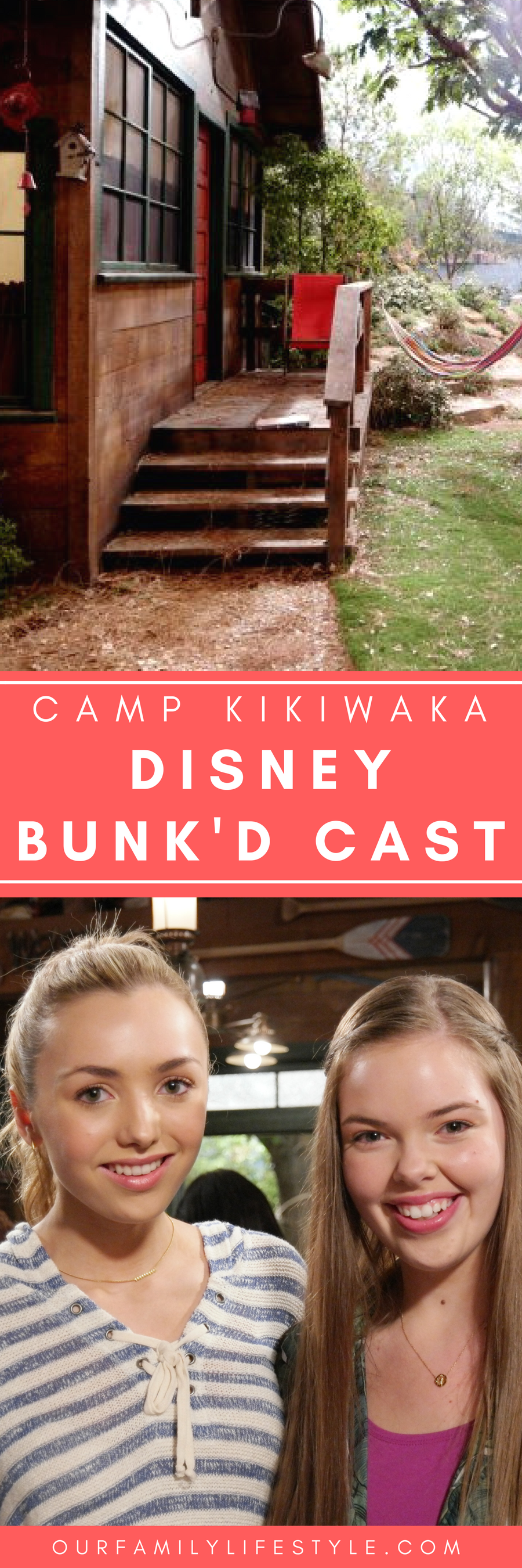 Visiting Camp Kikiwaka With Cast Of Disney Channel S Bunk D