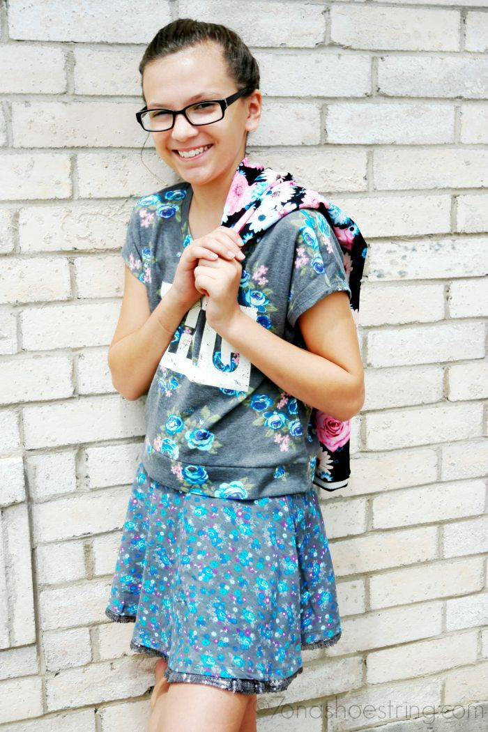 chic clothes for back to school with Sears