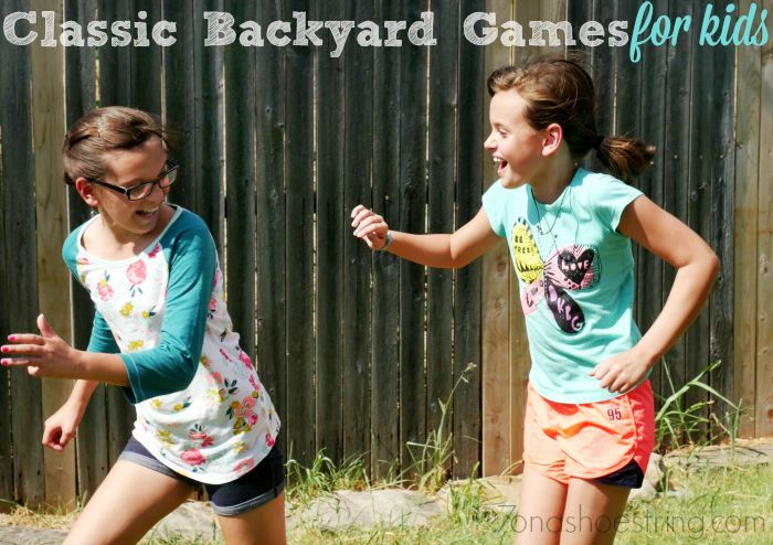 classic backyard games for kids