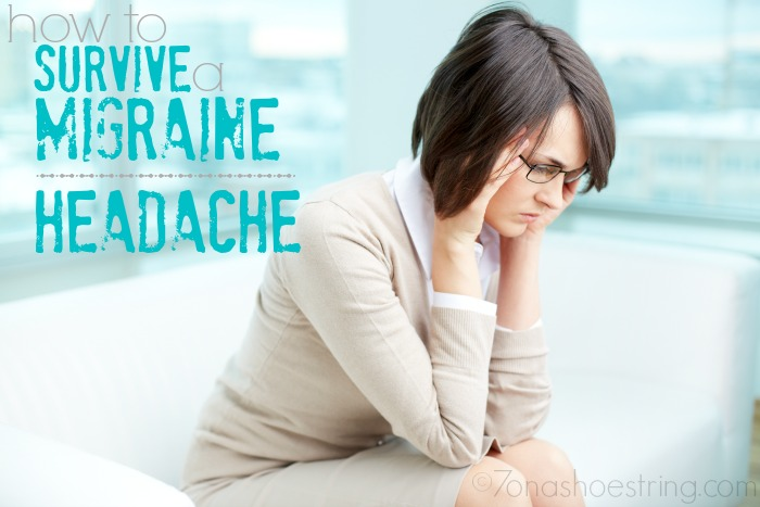 how to survive a migraine headache
