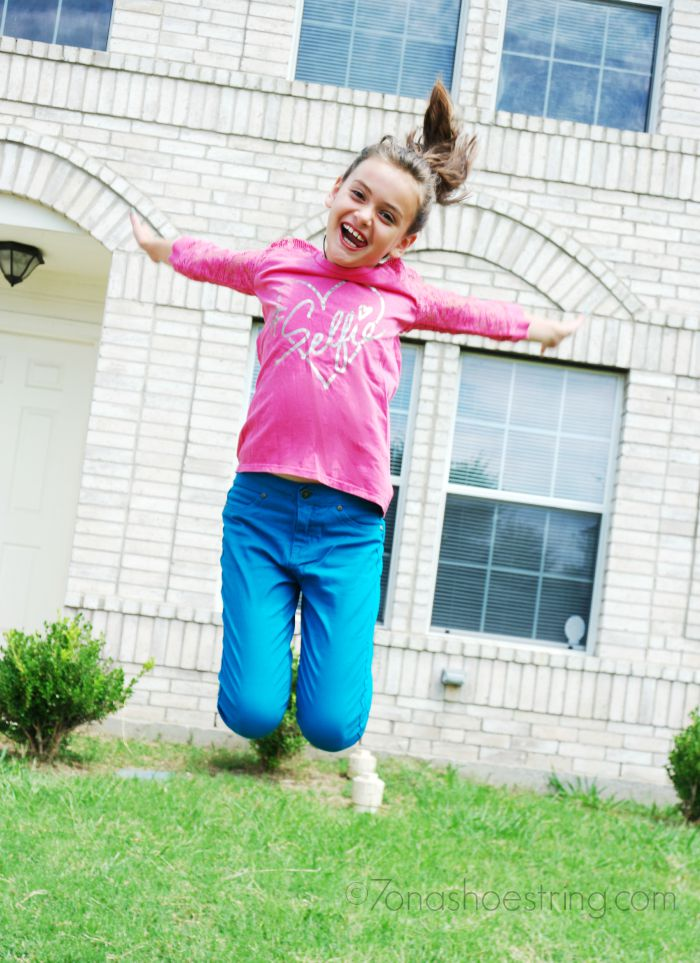 jumping for back to school with Sears