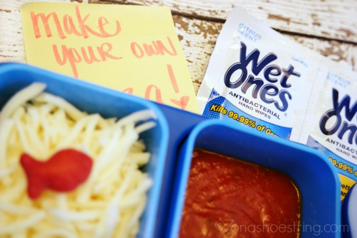 personalize school lunches with notes